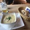 Kartoffelsuppe mit Brotkorb