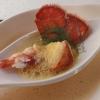 Hummerschwanz, Hummersüppchen, Curryschaum