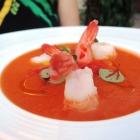 Foto zu Gaststätte Zur Krone: Gazpacho mit Garnelen