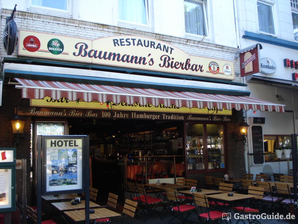 baumann 39 s bierbar restaurant bar pub in 20099 hamburg bezirk hamburg mitte. Black Bedroom Furniture Sets. Home Design Ideas