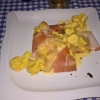 Tortellini mit Käse & Birne gefüllt 13 €
