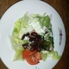 Foto zu Restaurant Pfefferkorn: Bunter Salat zu Pfeffersteak