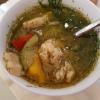 """Fischsuppe """"Albert"""" für 4,90 € mit viel Fischwürfeln und Gemüsestreifen"""