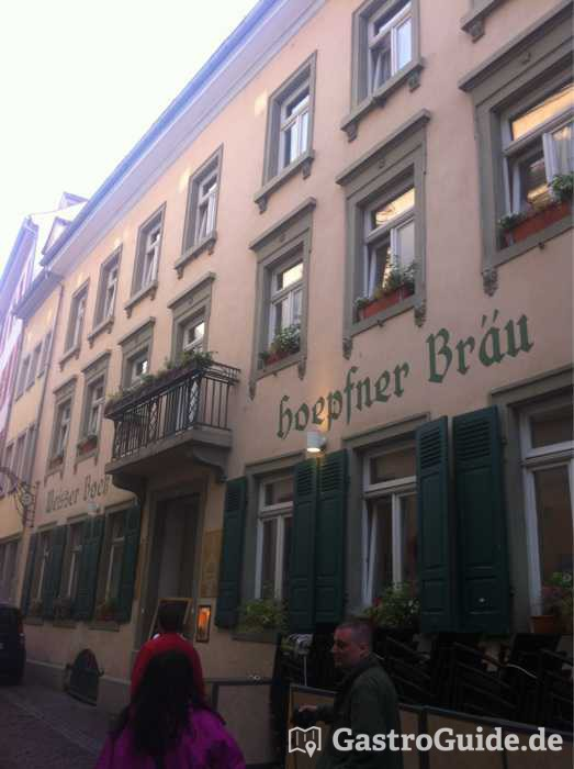 weisser bock restaurant bar in 69117 heidelberg altstadt. Black Bedroom Furniture Sets. Home Design Ideas