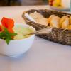 Brot mit Bärlauchcreme