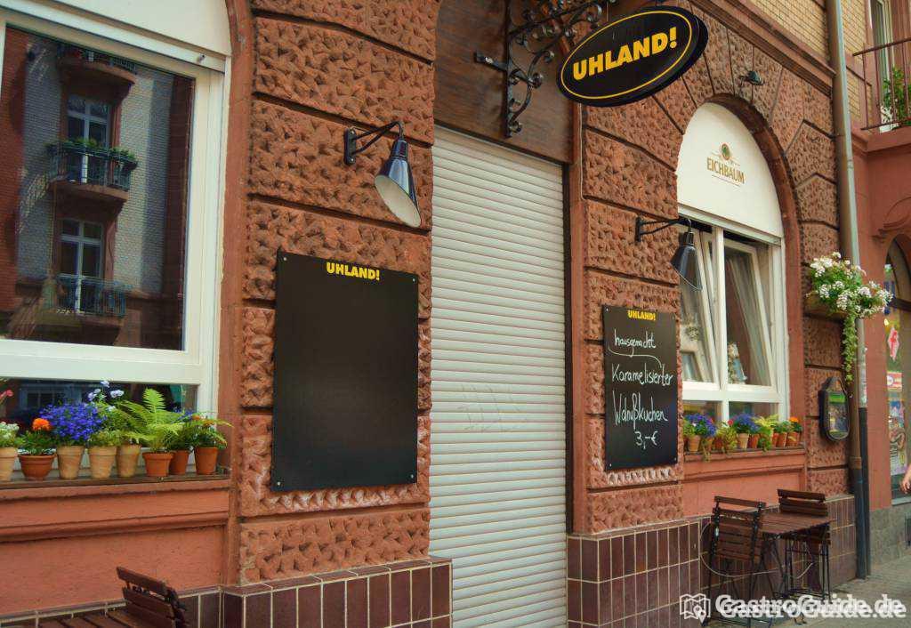 uhland restaurant in 68167 mannheim. Black Bedroom Furniture Sets. Home Design Ideas