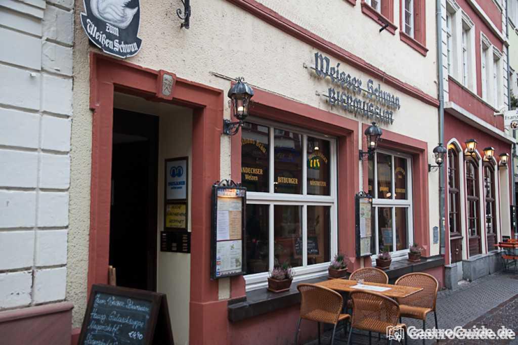 gasthaus zum weissen schwan restaurant in 69117 heidelberg. Black Bedroom Furniture Sets. Home Design Ideas
