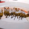 Taverne Mykonos - gegrillte Peperoni