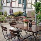 Foto zu Restaurant Shakespeares: Schöner Biergarten