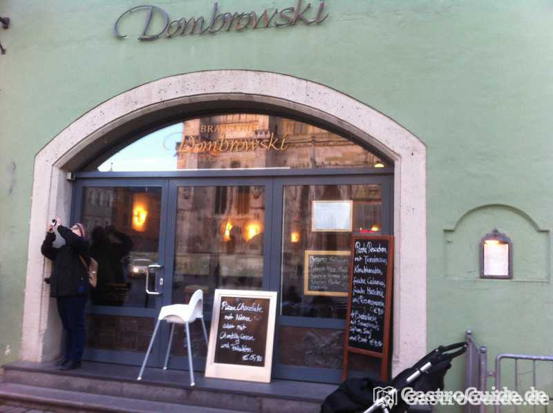 brasserie dombrowski restaurant in 93047 regensburg. Black Bedroom Furniture Sets. Home Design Ideas