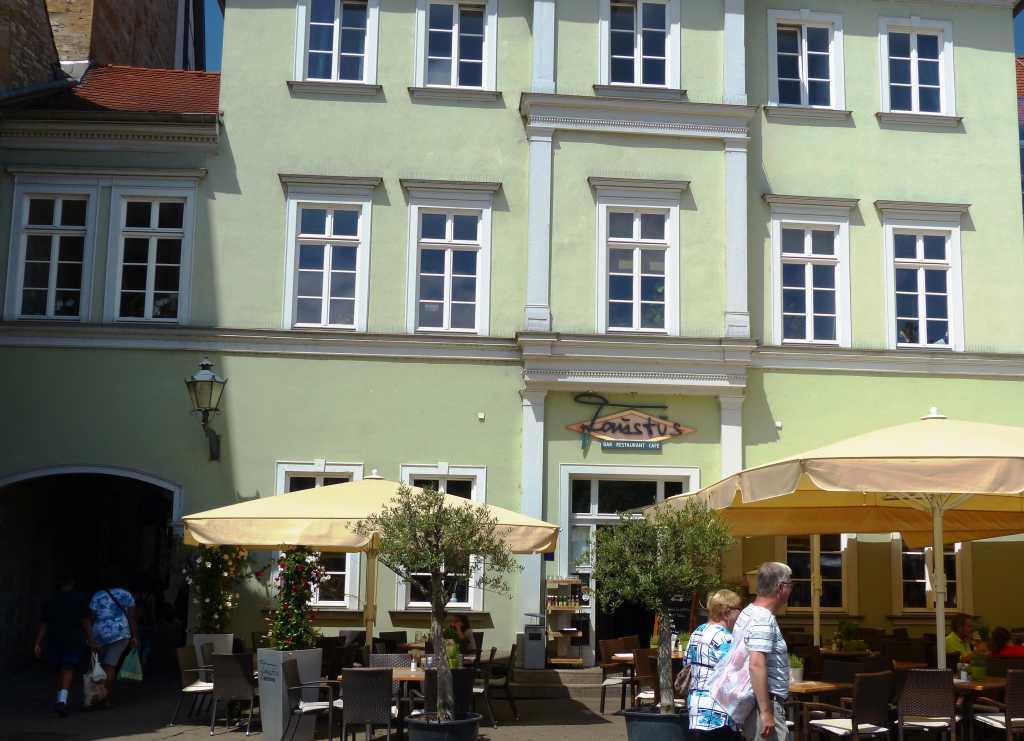 faustus restaurant bar cafe in 99084 erfurt altstadt. Black Bedroom Furniture Sets. Home Design Ideas