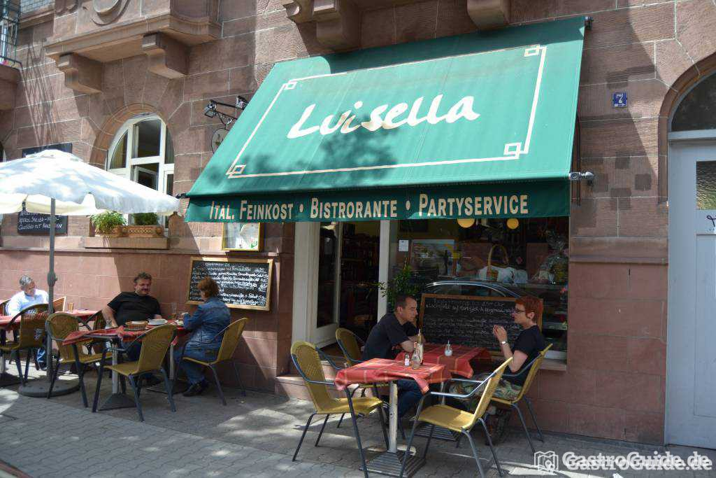 luisella restaurant bistro cafe catering in 68167 mannheim neckarstadt. Black Bedroom Furniture Sets. Home Design Ideas