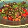 Gartensalat mit Kernen