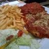 Parmesanschnitzel groß