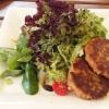 Salat mit Kaspressknödel