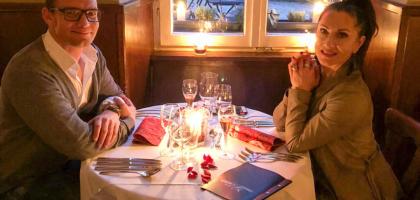 Fotoalbum: Valentins Dinner