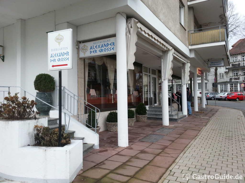 alexander der gro e restaurant in 31812 bad pyrmont. Black Bedroom Furniture Sets. Home Design Ideas