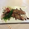 Thunfisch und Wakamesalat