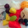Obst und Eis (Nachtisch)