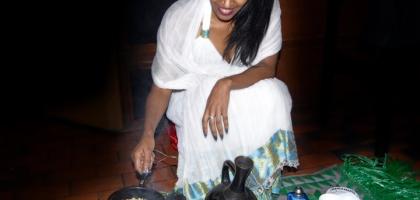 Fotoalbum: Äthiopische Kaffee Zeremonie im Abessinia