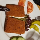 Foto zu Zum Keglerheim: Saganaki gebacken