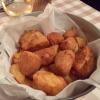 """Fisch & Chips """"Alt Heringsdorf"""", gebackener Kabeljau, Pommes frites"""