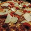 Pizza Lamezia (mit in Rotwein gebratenem Hackfleisch)
