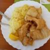 Limandesfilet mit hausgemachten Kartoffelsalat für 9,20 €