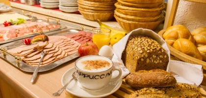 Fotoalbum: Reichhaltiges Frühstück