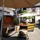 Foto zu Göcklinger Hausbrauerei: Innenhof
