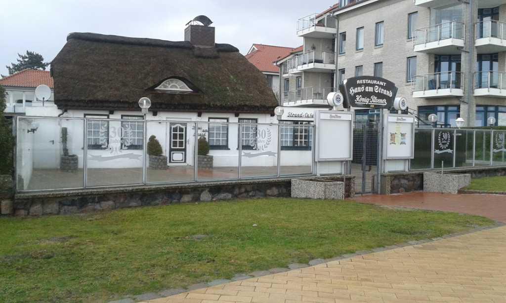 Haus am Strand Restaurant Cafe Gästezimmer in Fehmarn
