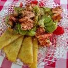 Foto zu Brauerei Gasthaus Lohhof: Salat mit Garnelen
