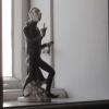 Deko-Figur aus Max und Moritz: Lehrer Lempel