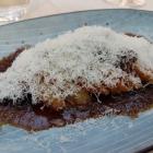 Foto zu Elements · Restaurant: Parmesan und Artischocke, halbgetrocknete Trauben, Zwiebelmarmelade
