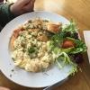 Fischteller Kartoffelsalat
