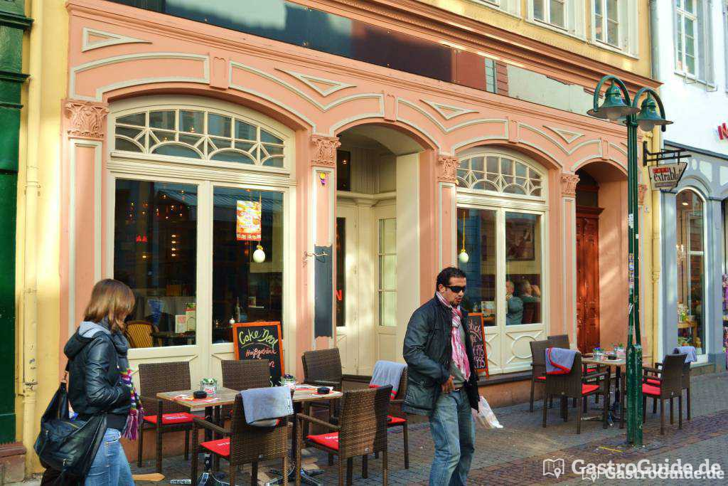cafe extrablatt bistro cafe in 69117 heidelberg altstadt. Black Bedroom Furniture Sets. Home Design Ideas