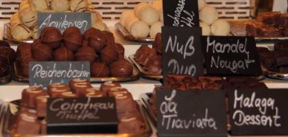Fotoalbum: Pralinen und Schokoladen