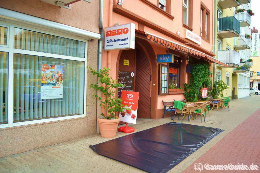 restaurant memo restaurant hotel in 68167 mannheim neckarstadt. Black Bedroom Furniture Sets. Home Design Ideas