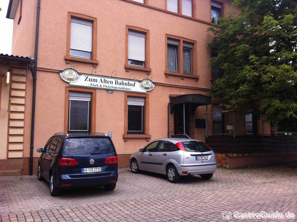 zum alten bahnhof restaurant in 76676 graben neudorf. Black Bedroom Furniture Sets. Home Design Ideas