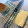 Trüffelfocaccia und Butter