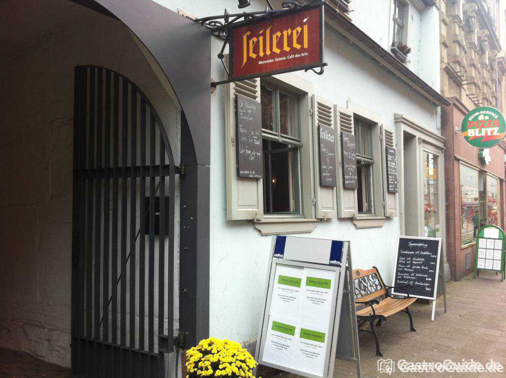seilerei karlsruhe restaurant cafe weinstube in 76131 karlsruhe innenstadt ost. Black Bedroom Furniture Sets. Home Design Ideas