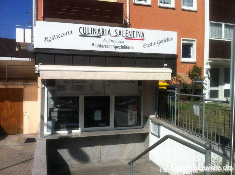 culinaria salentina da antonella rosticceria schnellrestaurant imbiss in 71404 korb. Black Bedroom Furniture Sets. Home Design Ideas