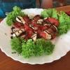 Tomaten- Mozzarella-Teller (5,50€)