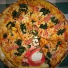 Foto zu Trattoria Romana: Pizza Spinaci