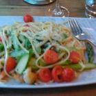Foto zu Bistro & Vinothek Mi Piace: die Spaghetti mit grünem Spargel