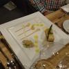 Mousse und Tatar vom Hummer mit Kohlrabi und Mandarine