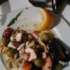 Vorspeise zum Fisch-Menü
