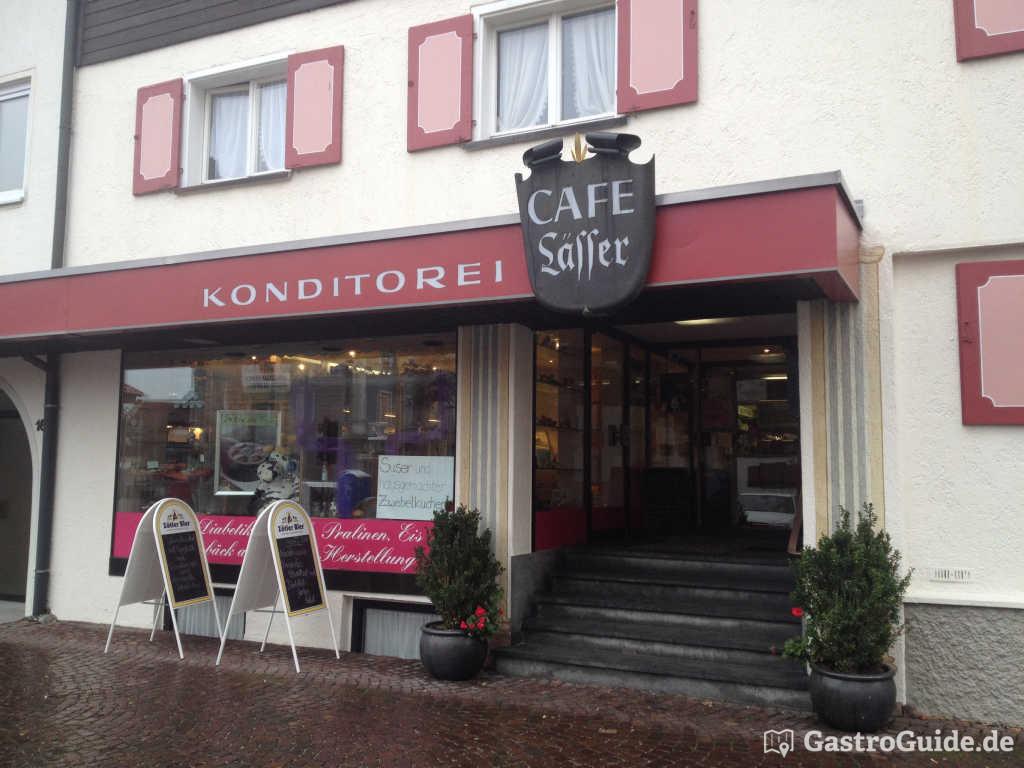 Cafe l sser restaurant cafe konditorei in 87534 oberstaufen for 87534 oberstaufen