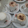 Cappucino und Kakao