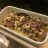 Kartoffelpüree mit Shiitake und Schalotten